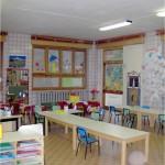 Una delle aule dell'istituto Alciati
