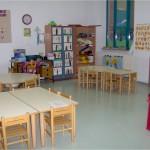 Una delle aule della Scuola dell'Infanzia